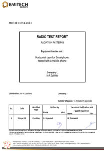 RF certificat wave protect france.com